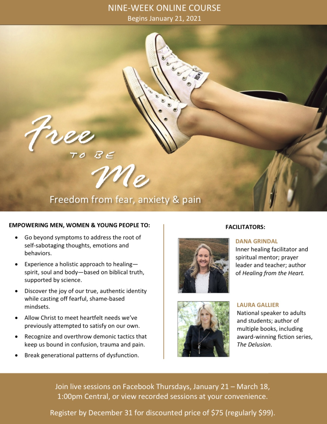 Free to be. Me Info. Sheet Website
